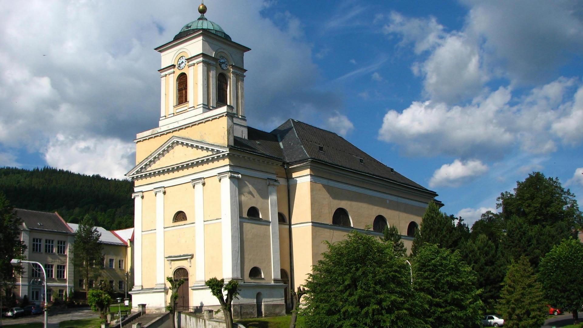 foto: The town of Vrbno pod Pradědem