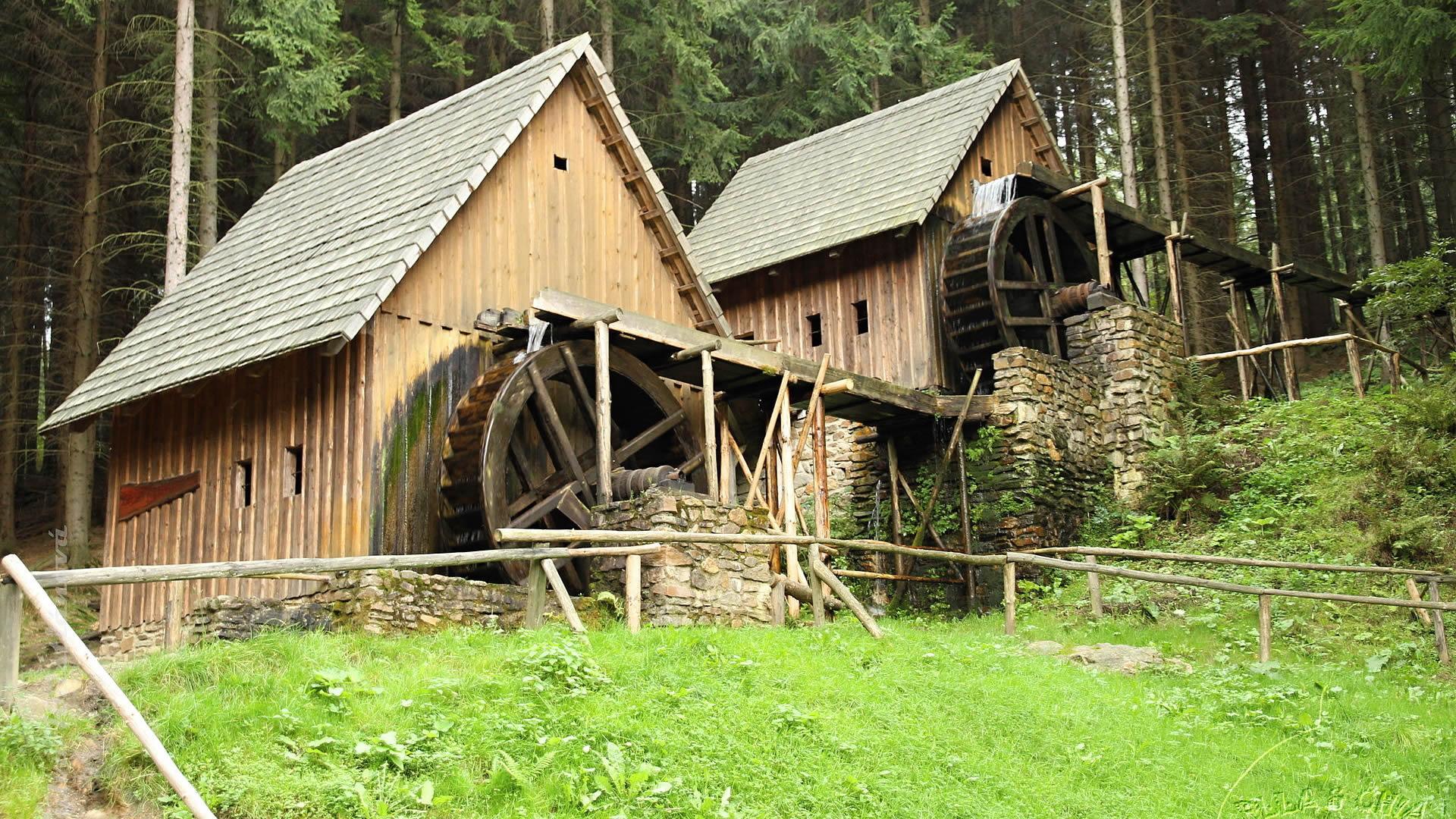 foto: Zlaté Hory – museum of gold panning