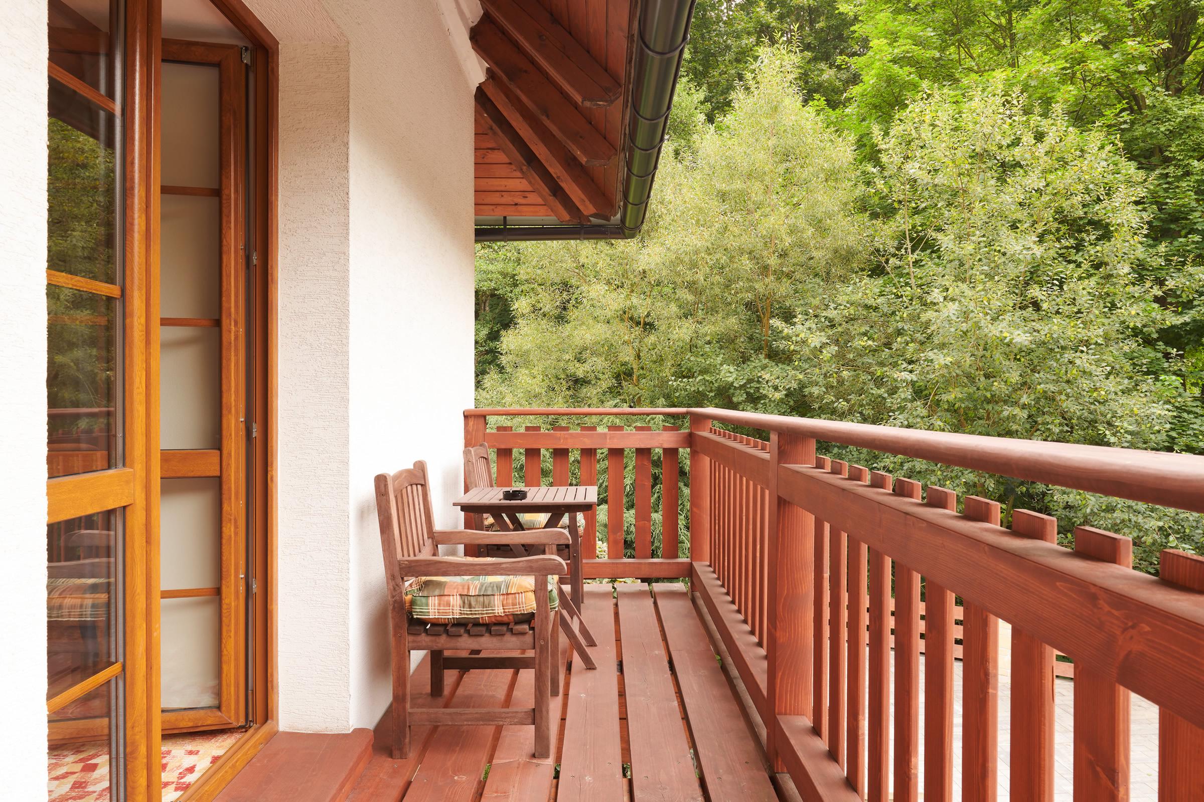 Třílůžkový pokoj superior s balkonem