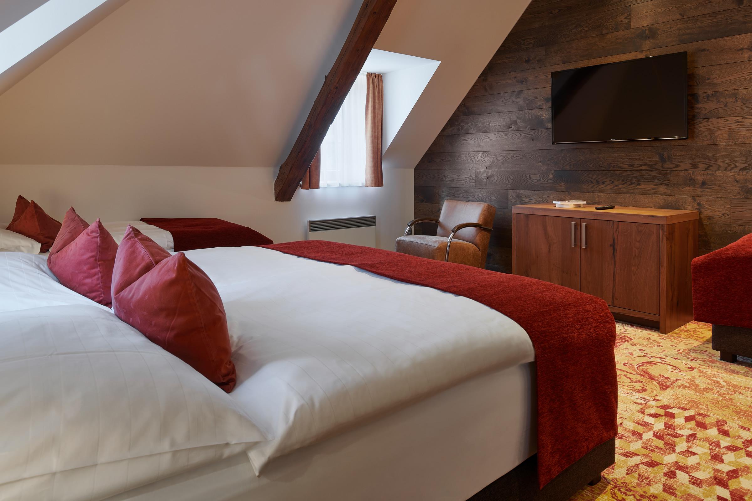 Čtyřlůžkový pokoj Comfort